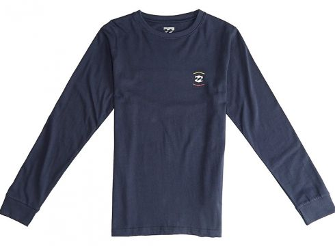 Billabong Vista Long Sleeve T-Shirt navy(97849473)