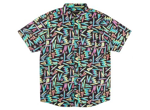 Empyre Shaped Geo Shirt zwart(115811385)