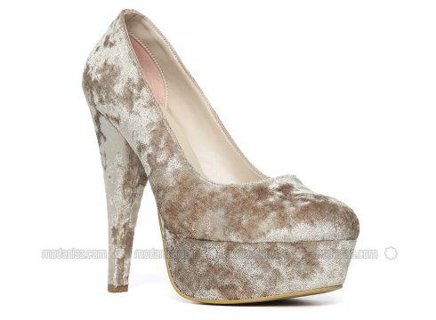 Green - High Heel - Heels - Angelshe(110340318)