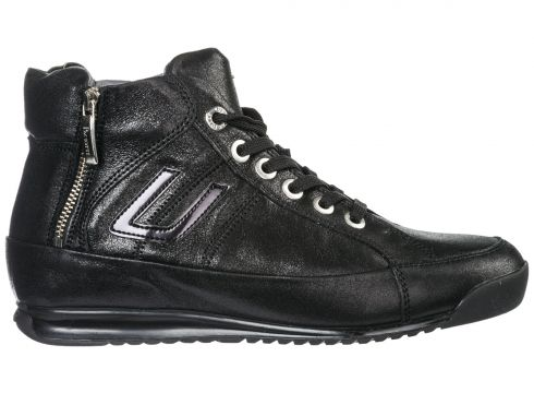 Women's shoes high top leather trainers sneakers(118074012)