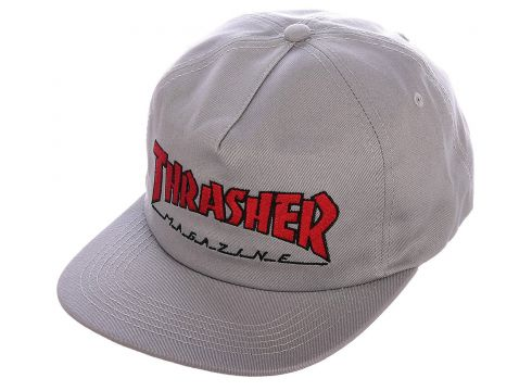 Thrasher Outlined Snapback Cap grijs(92509443)