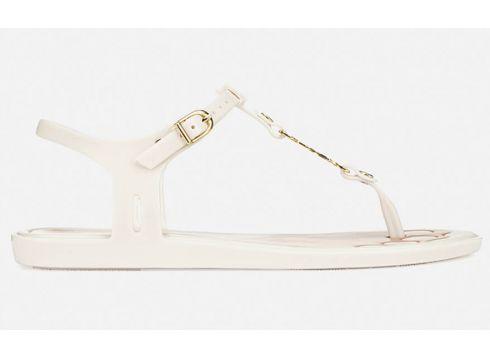 Vivienne Westwood For Melissa Women\'s Solar 21 Toe Post Sandals - White Contrast - UK 3 - Weiß(78454141)