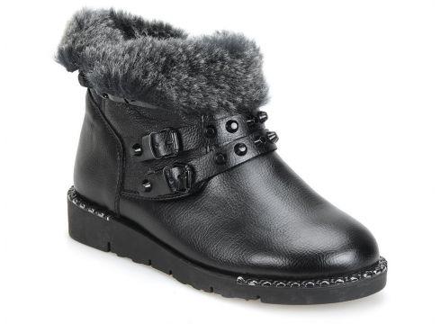 Butigo 18k-203 Siyah Kadın Bot - FLO Ayakkabı(65626999)