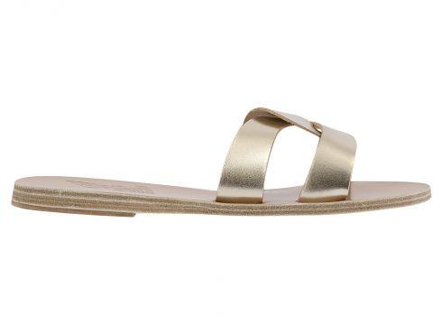 Sandalen aus Leder Desmos - Damenkollektion -(120840218)