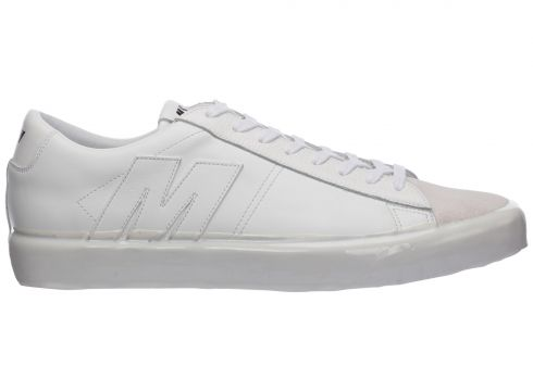 Men's shoes leather trainers sneakers(118230227)