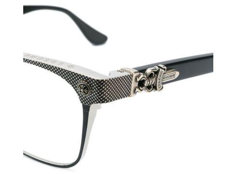 Chrome Hearts lunettes Nasty Freeze - Noir(76577734)