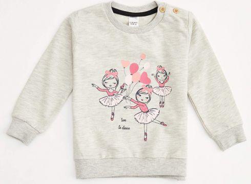 DeFacto Kız Bebek Baskılı Sweatshirt(125934631)