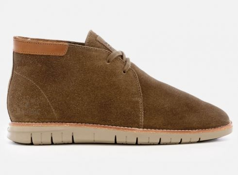Barbour Men\'s Boughton Suede Chukka Boots - Cola - UK 7 - Tan(69429907)