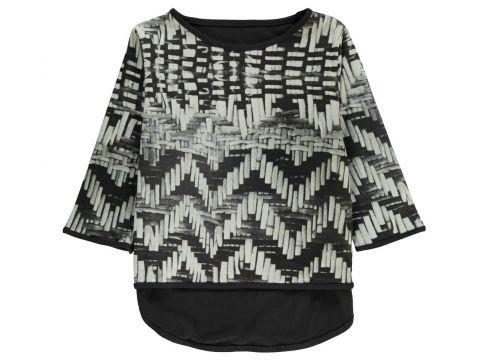 T-Shirt asymmetrisch aus Bio-Baumwolle(113612378)
