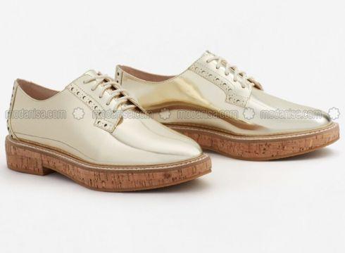 Golden tone - Casual - Shoes - Mango(100924011)