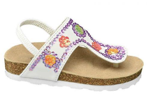 Cupcake Couture Deichmann Kadın Beyaz Sandalet(105123726)