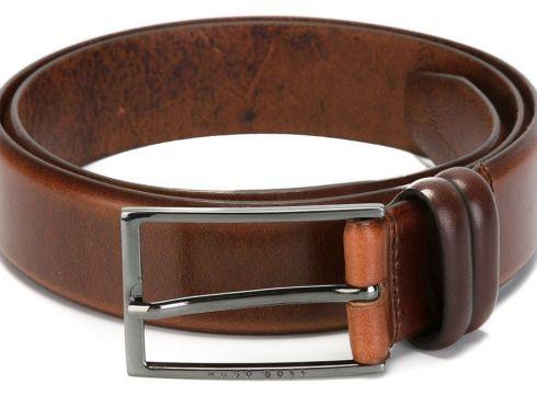Boss Hugo Boss ceinture classique - Marron(65452406)