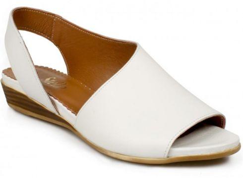 Stella 20214 Z Casual Günlük Beyaz Kadın Sandalet(110950070)