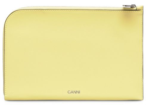 Pouch Bags Card Holders & Wallets Wallets Gelb GANNI(116334714)