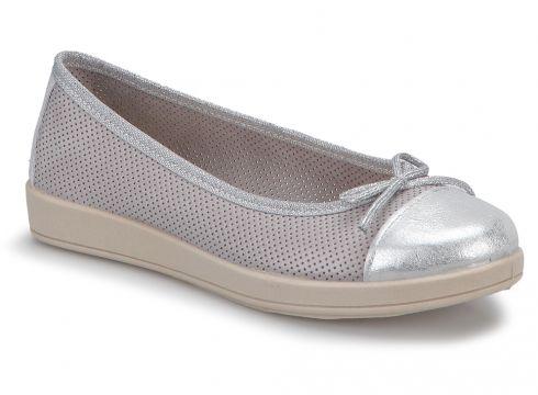MOMEM HVN00313 Taş Rengi Kadın Babet - FLO Ayakkabı(50731960)