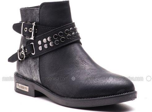 Black - Boot - Boots - Esem(110336602)