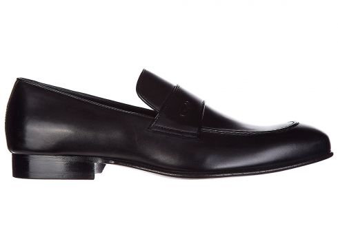 Men's leather loafers moccasins(118071351)