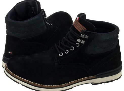 Trzewiki Outdoor Suede Boot FM0FM01748 990 Black (TH13-a)(114730587)