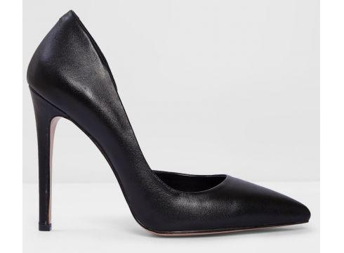 Aldo Hakiki Deri Siyah Kadın Klasik Topuklu Ayakkabı(120897050)
