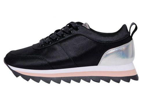 ONLY Contrastkleurige Sneakers Dames Zwart(93976338)