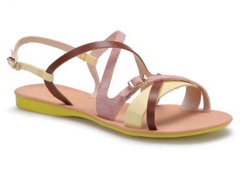 Art Bella RB002 Sarı Kadın Sandalet - FLO Ayakkabı(86286339)
