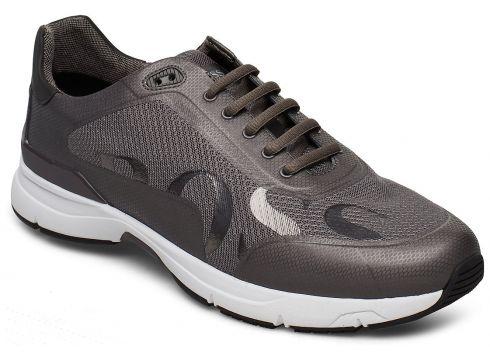 Velocity_runn_logo2 Niedrige Sneaker Grau BOSS ATHLEISURE WEAR(94140294)