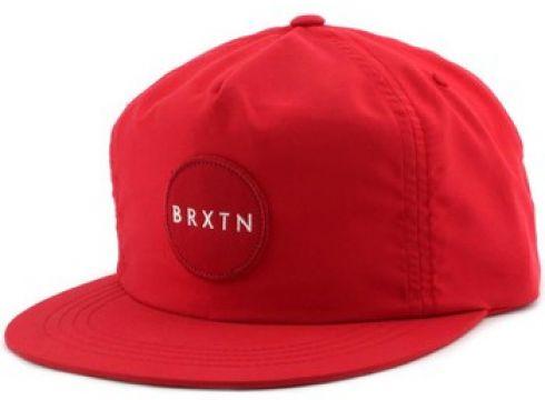 Casquette Brixton Casquette Snapback MEYER Rouge(115448269)