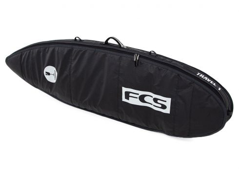 FCS Travel 1 All Purpose Surfboard Bag - Black Grey(110360608)