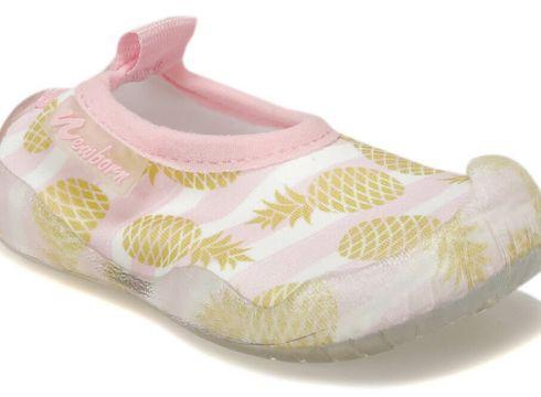 NEWBORN Naq2010 Aqua Gold Ananas Açık Pembe Çok Renkli Unisex Çocuk Terlik - FLO Ayakkabı(86185324)