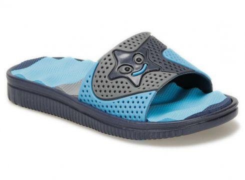 Kinetix Grato Lacivert Açık Mavi Erkek Çocuk Terlik - FLO Ayakkabı(86185214)
