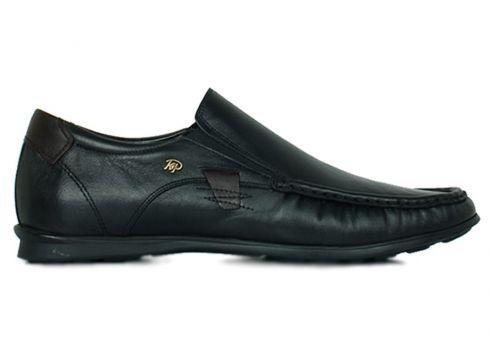 KİNG PAOLO Hakiki Deri Siyah Erkek Ayakkabı(105242686)