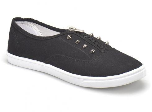 Art Bella U2300-18S Siyah Kadın Slip On - FLO Ayakkabı(81611207)