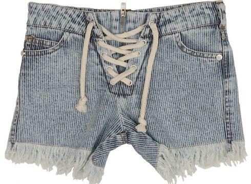 Shorts Pour Fille Best Kids Bleu(102875301)
