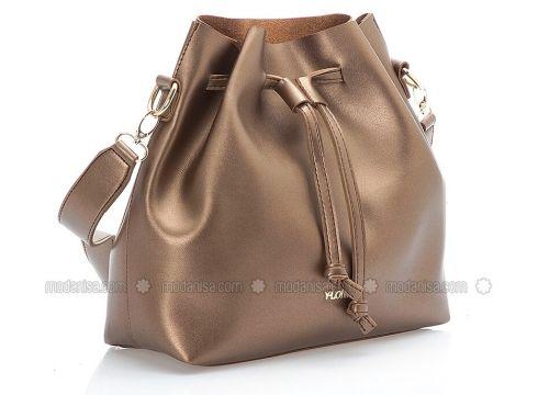 Brown - Satchel - Bag - Y-London(100929803)