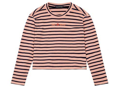 T-Shirt mit Rüschen(117380180)