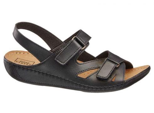 Easy Street Deichmann Kadın Siyah Sandalet(105123653)