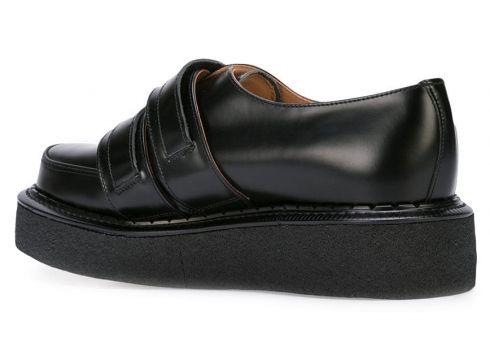 Comme Des Garçons Homme Plus chaussures à boucles George Cox - Noir(76632606)