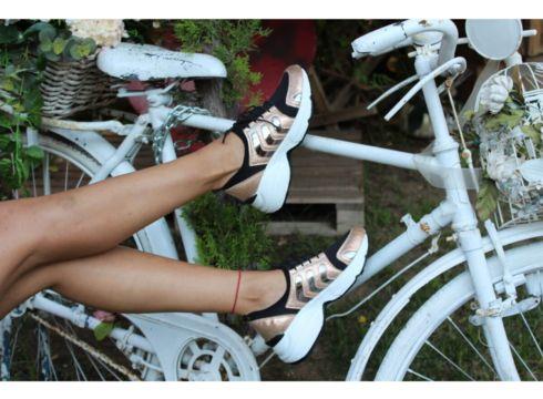 Dizzy Rose Likralı Rahat Sneaker Ayakkabı(119319302)