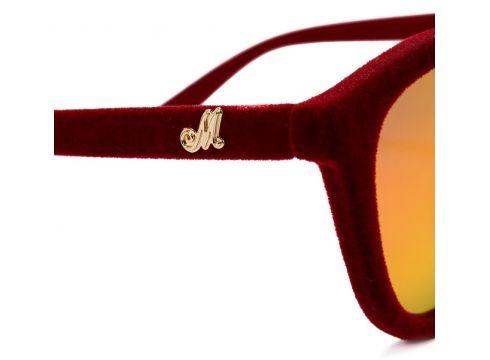 Monnalisa lunettes de soleil à monture papillon - Rouge(76479763)