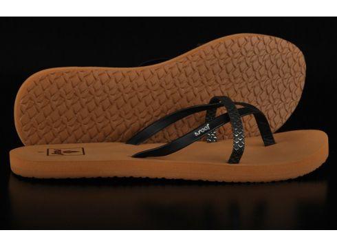 Reef Bliss Wild Black Vegan Sandale(77151716)